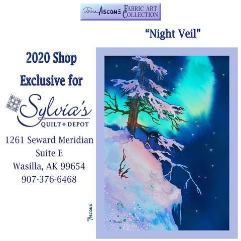 2020 Shop Exclusive Panel- Night Veil