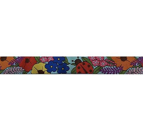 Ribbon-Alaskan Floral 7/8 wide