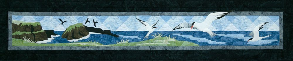Arctic Terns Applique Set
