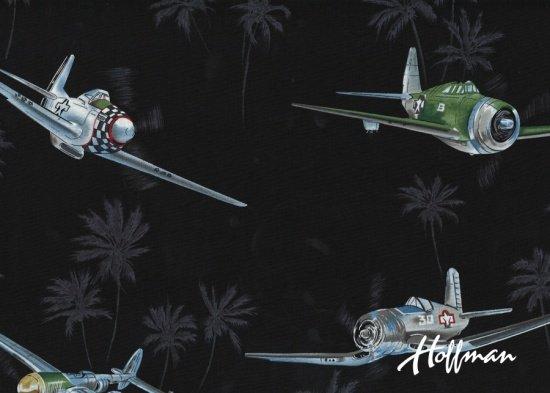 Fighter Planes-Black