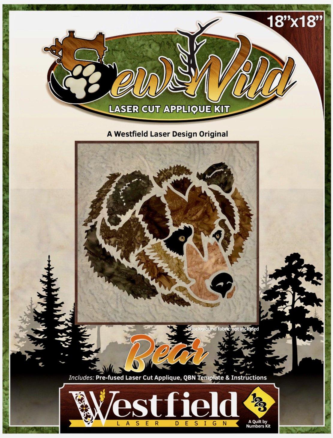 Sew Wild-Bear