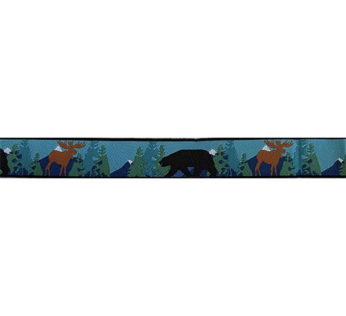 Ribbon-Black Bear 7/8 Wide