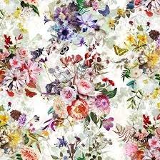 Floral Wonder-Bunches Cream 75-33