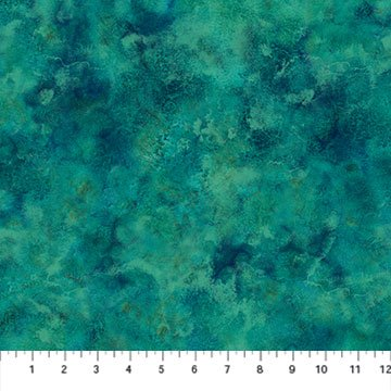 Tree of Wisdom-Teal-Mottled Texture 18-68