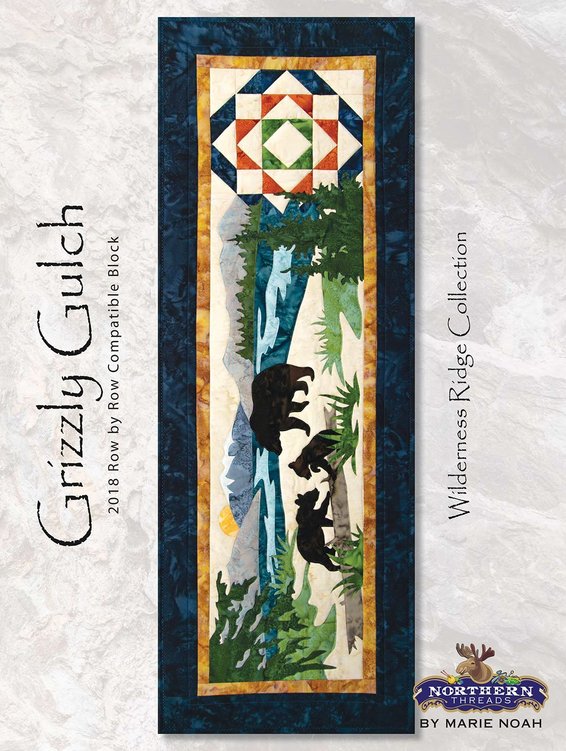 Grizzly Gulch Wilderness Ridge Applique Set