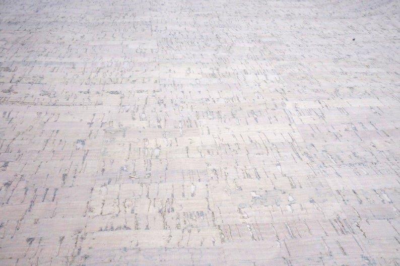 Cork Fabric-Pearl White 18 x 27