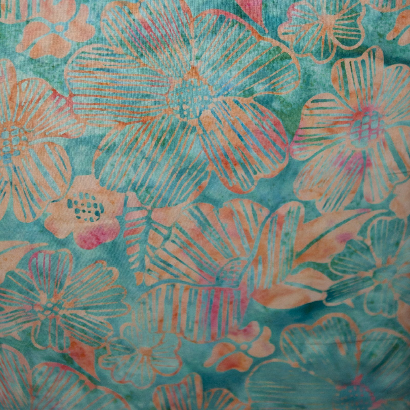 Batik-2835-Blue Hawaiian