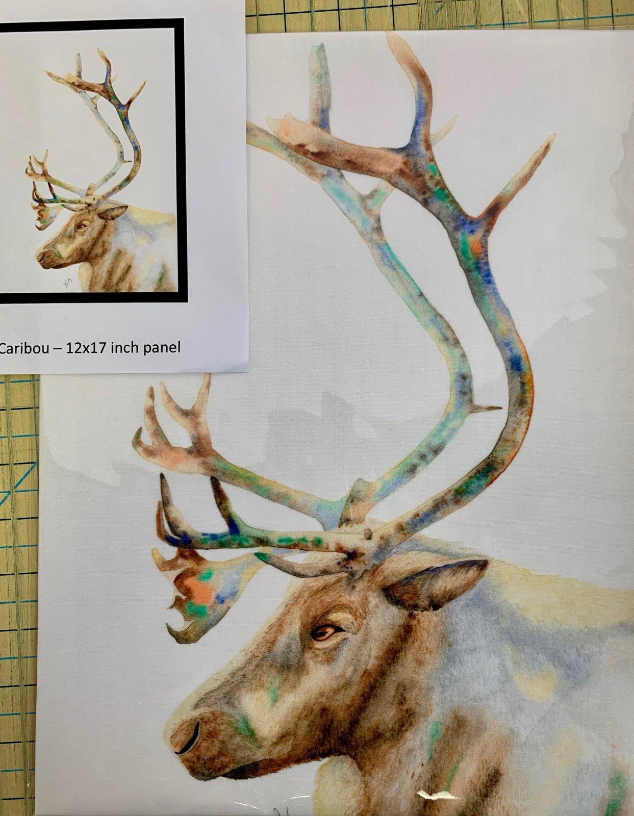 Caribou Fabric Panel