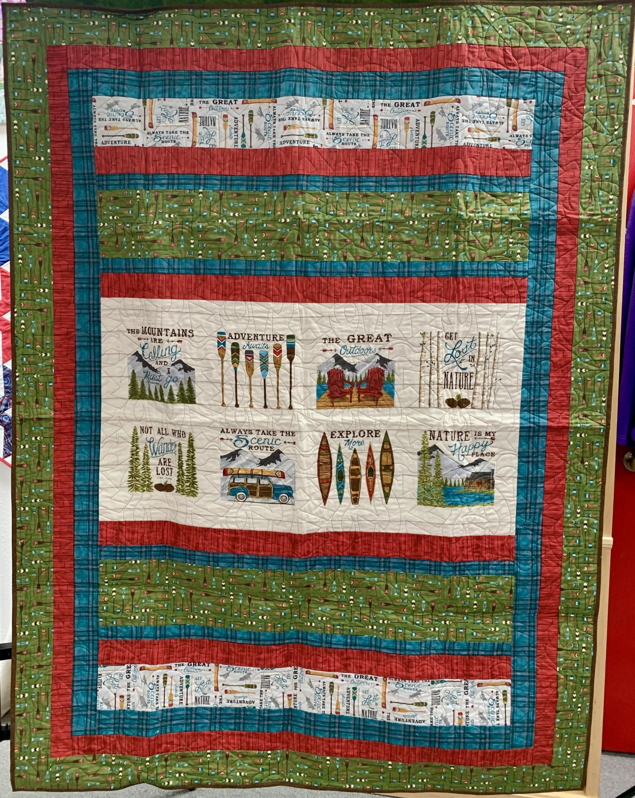 The Great Outdoors Quilt