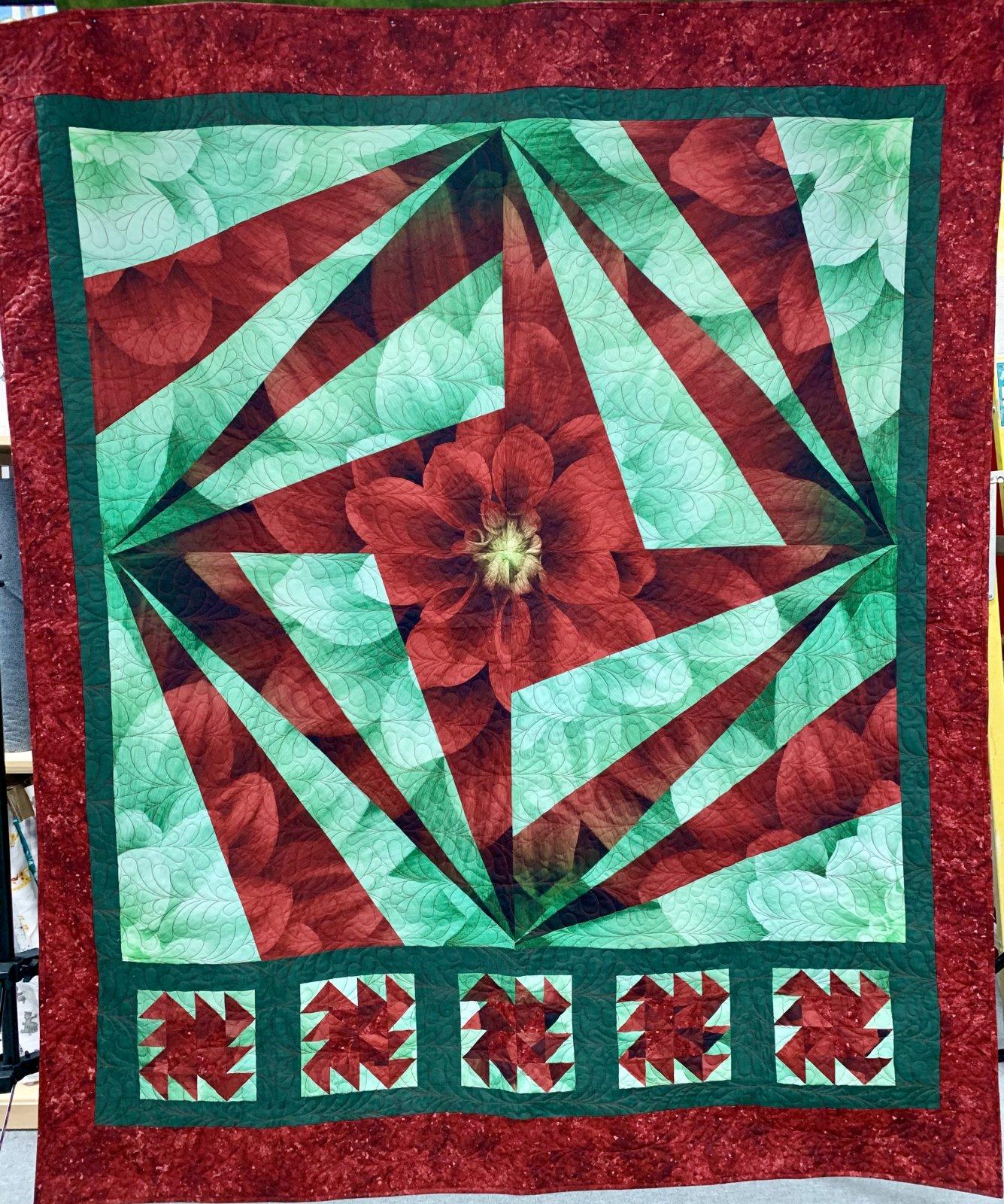 Dream Big--Red/Green  66 x 79