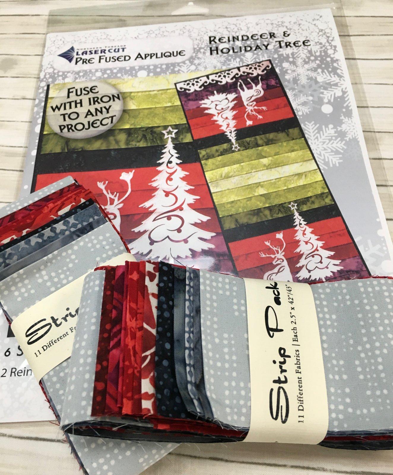 Strip Pack-Reindeer & Holiday Tree Kit