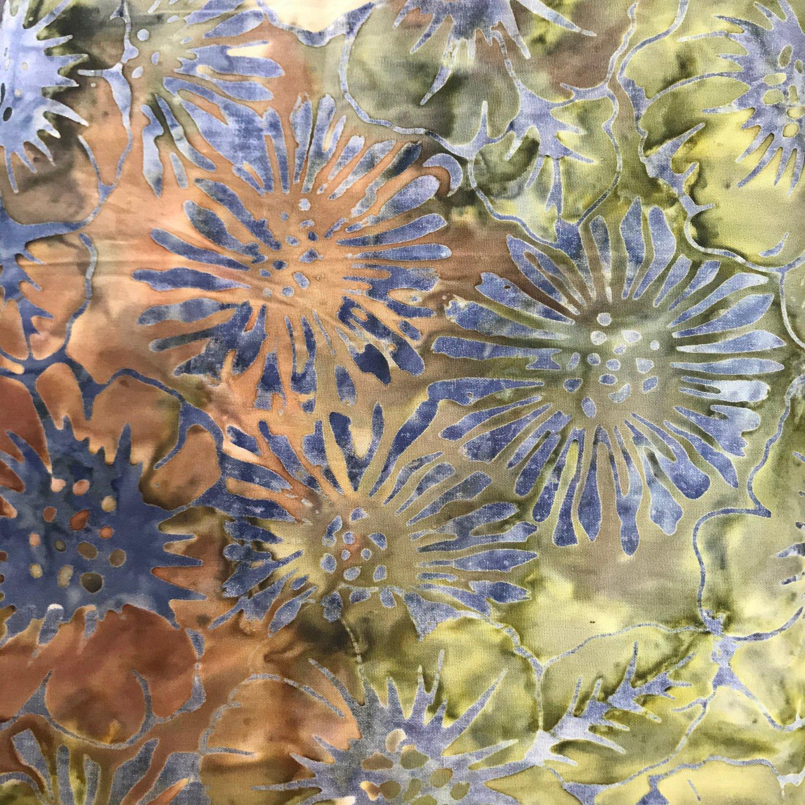 Batik-First Bloom Moss 7802
