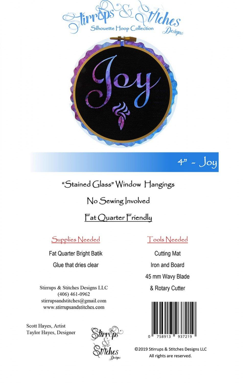 Laser Cut-Joy 4 Hoop Kit