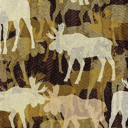 Woodland Moose-Brown 18-77
