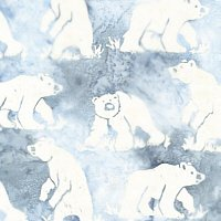 Batik-Polar Bear White 07-1