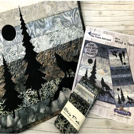 Strip Pack-Mini Wolf & Trees