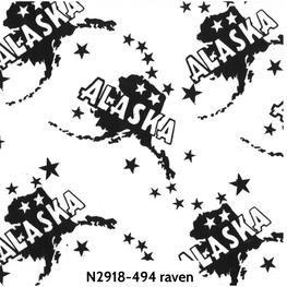 Batik-Alaska-Raven 18-494