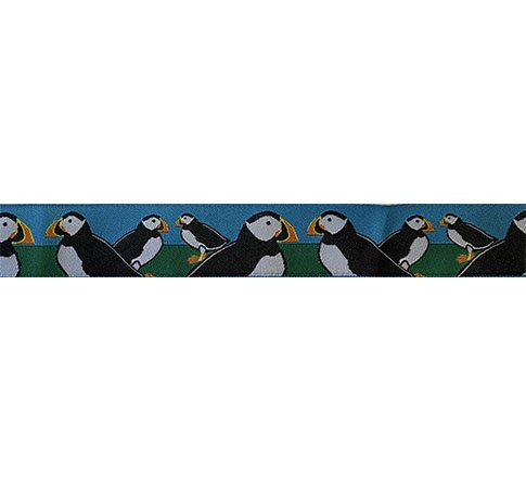 Ribbon-Puffins-7/8 Wide