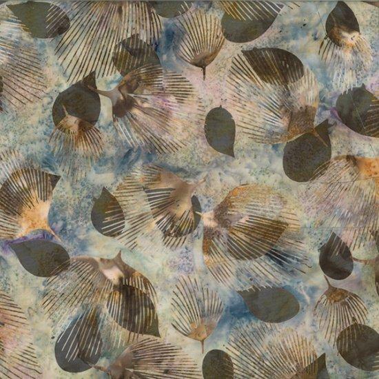 Batik-2243-Stone --Fan Leaf