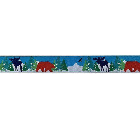 Ribbon-Red Bear 7/8 Wide