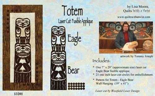 Totem-Laser-Eagle/Bear