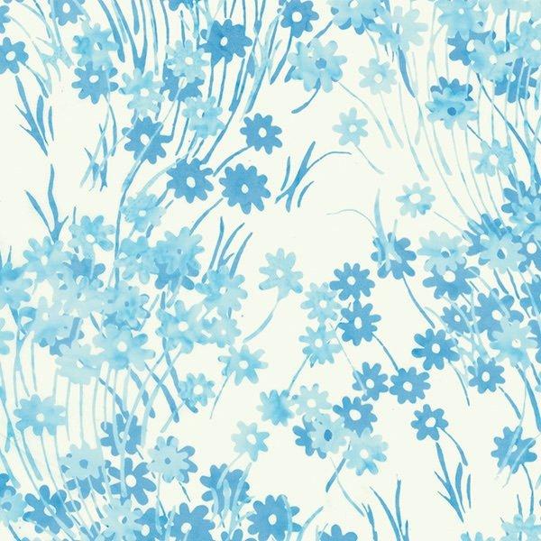 Batik-2372-Daisy Baby Blue
