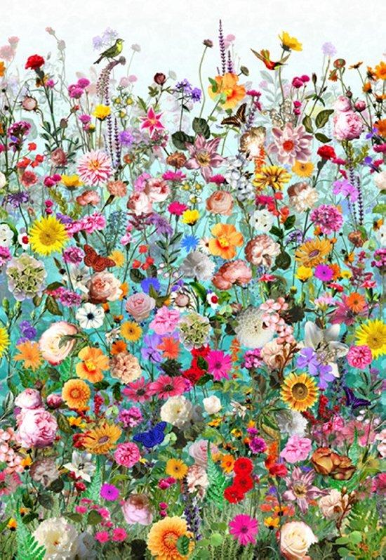 Floral WonderGarden-Turq-72-61