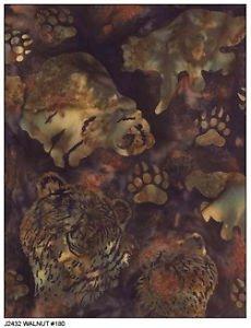Batik-AK Bears Walnut 180