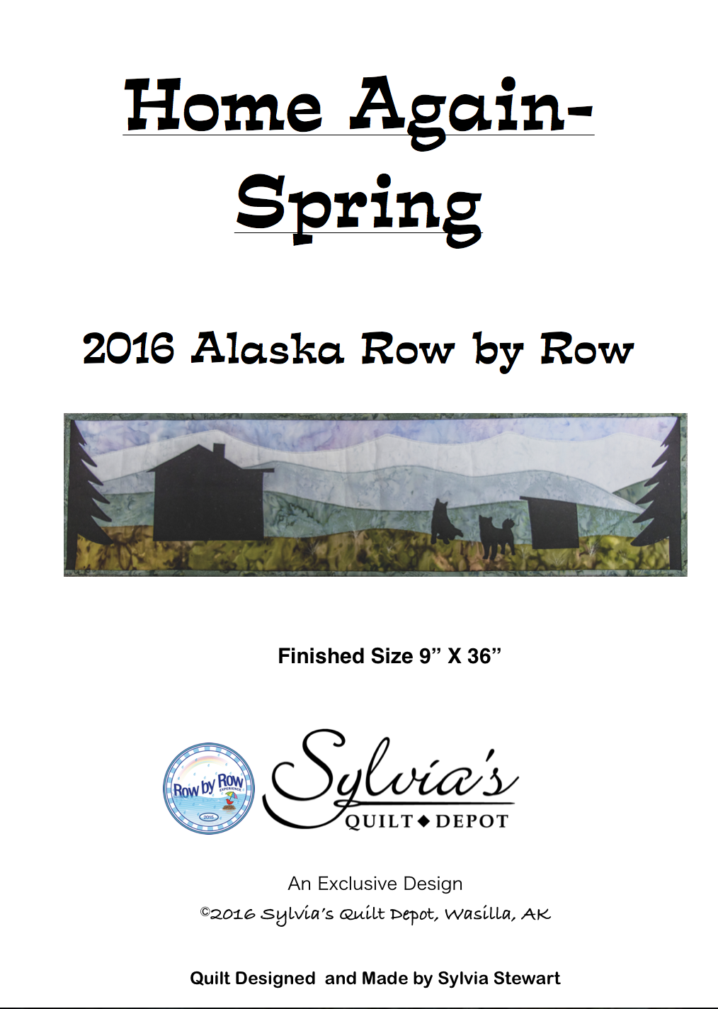 2016 Row X Row Home Again Pattern