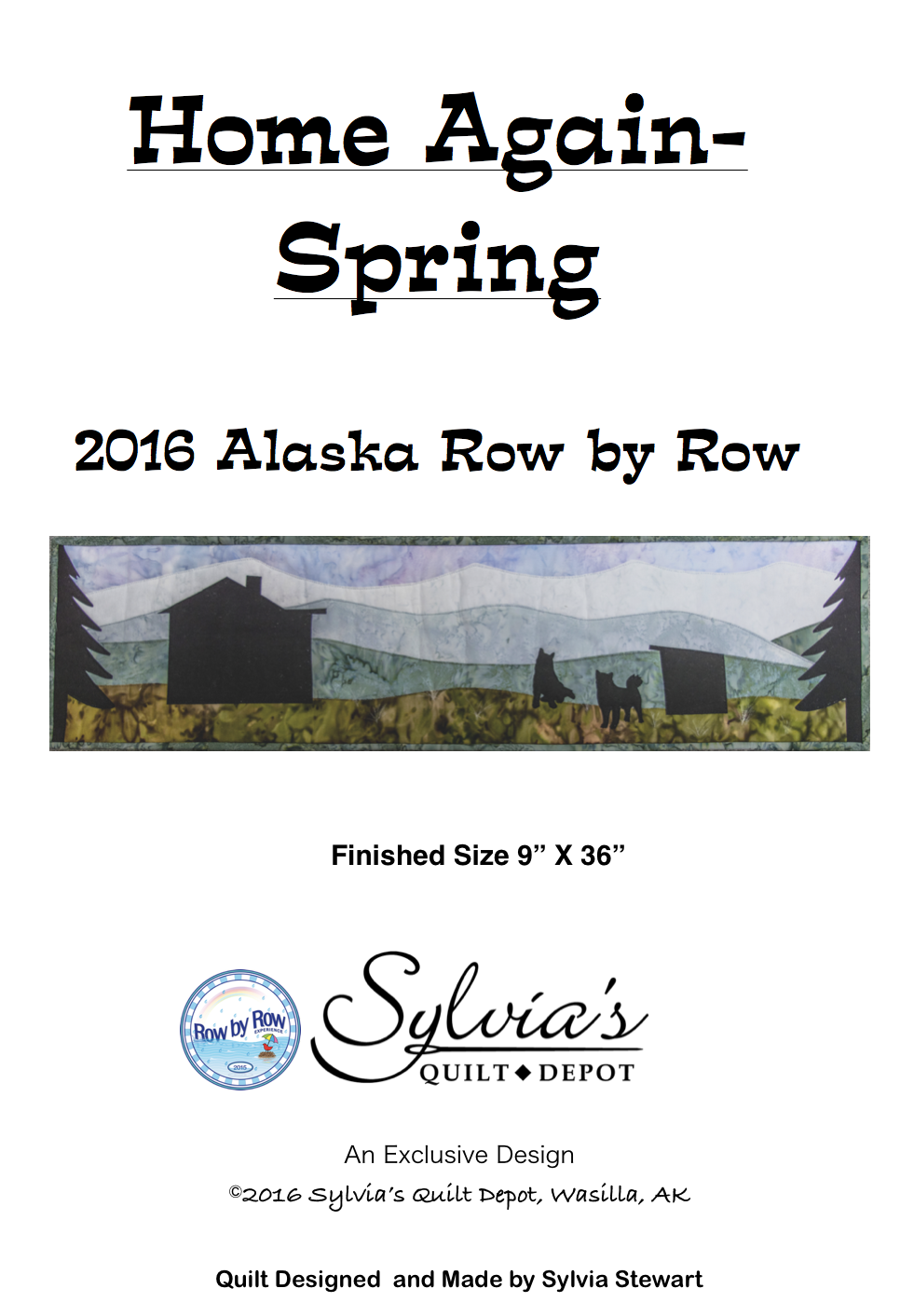 2016 Row x Row - Home Again - Spring Kit