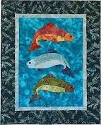 Fish Tales Kits w/Fabric