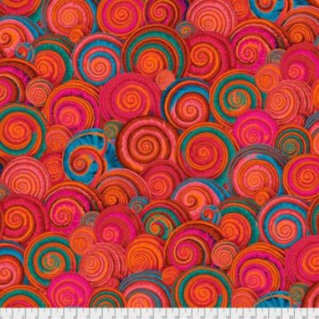 Spiral Shells-Orange 73