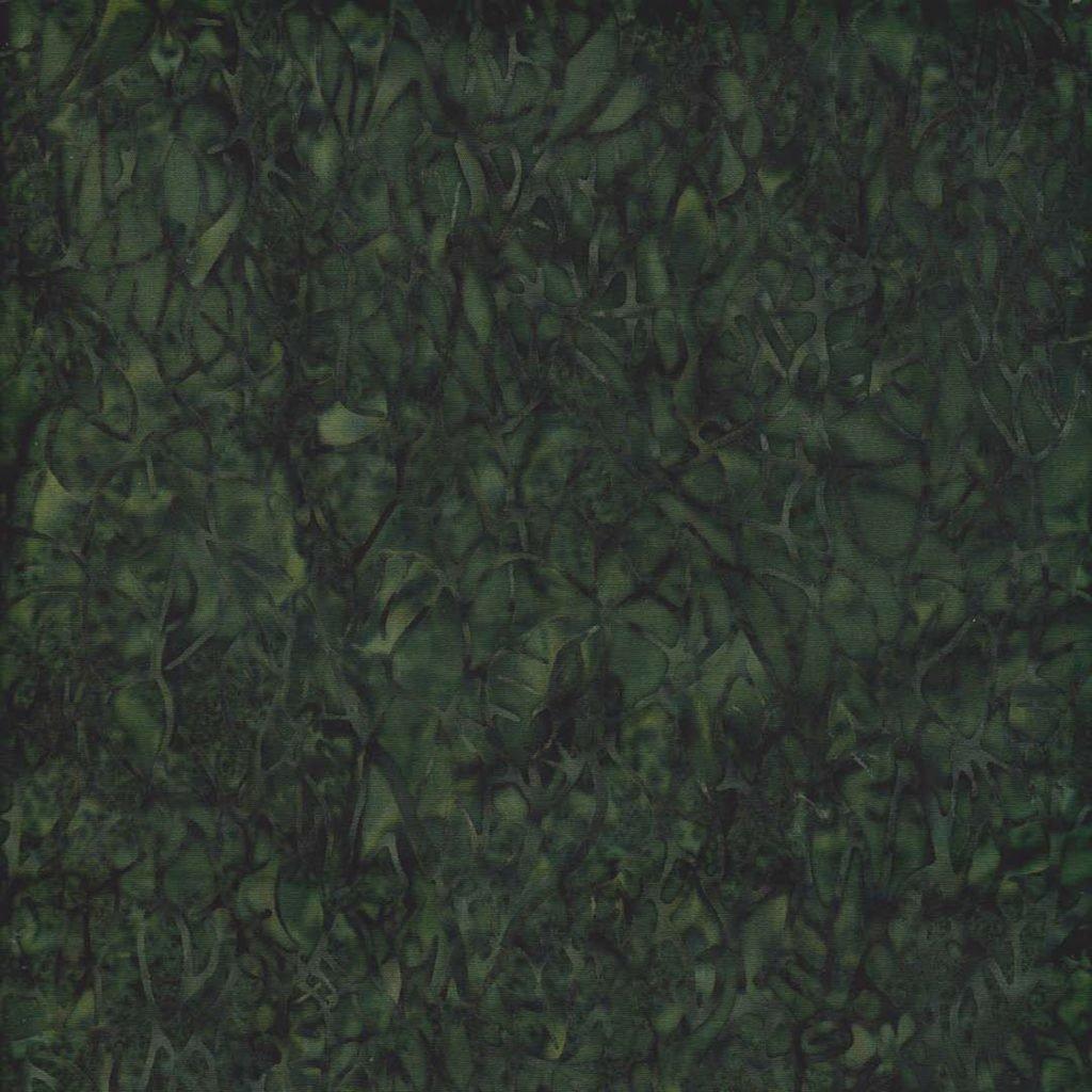 108 -BE27-Pineneedle-Branch-Green Batik