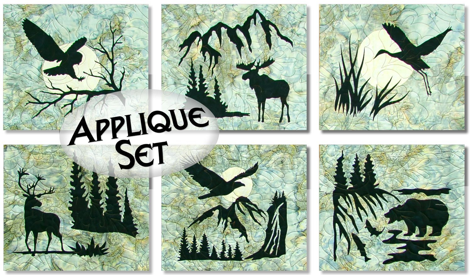 Wildwood Pre-fused Laser Applique Set