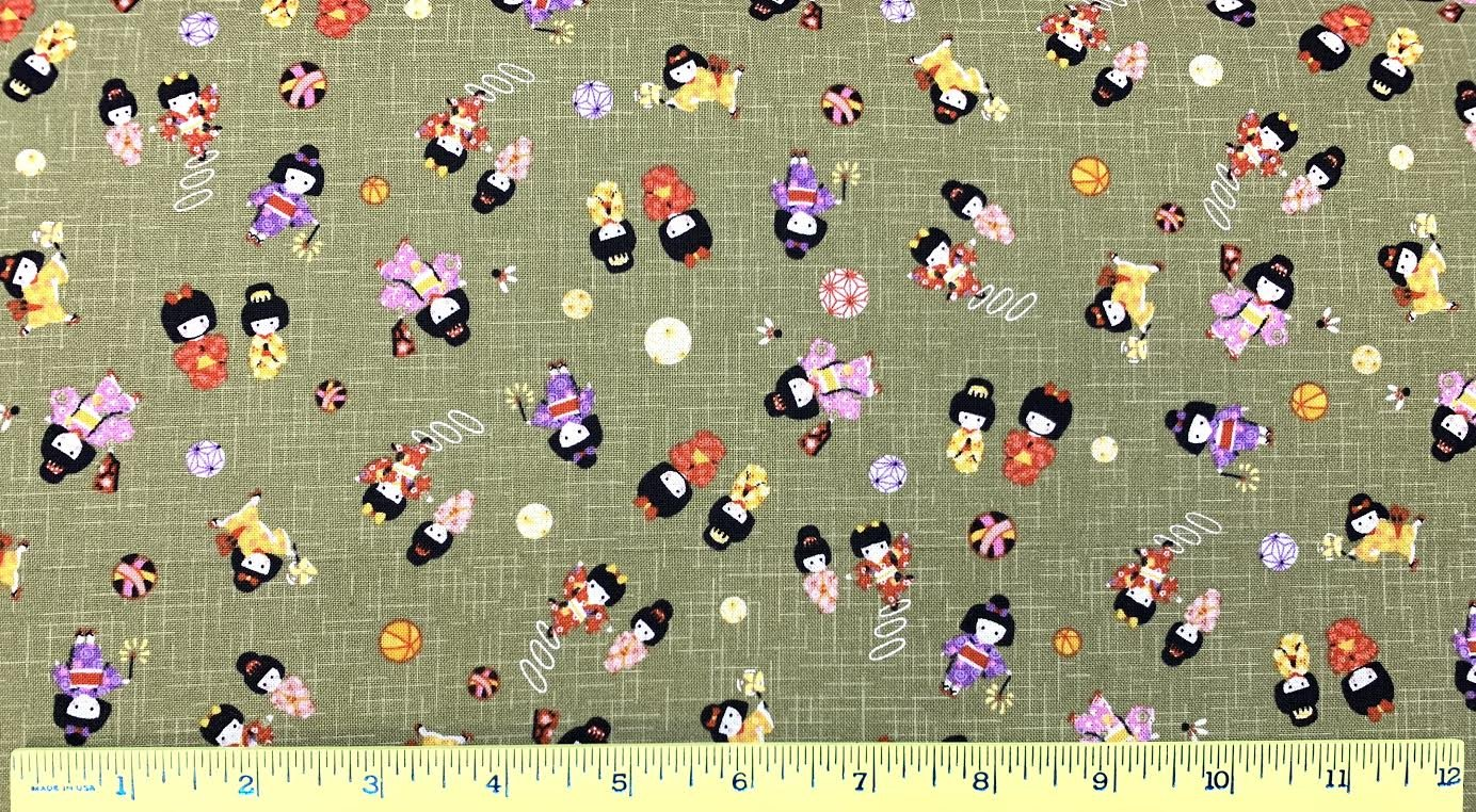 Baby Japanese Dolls