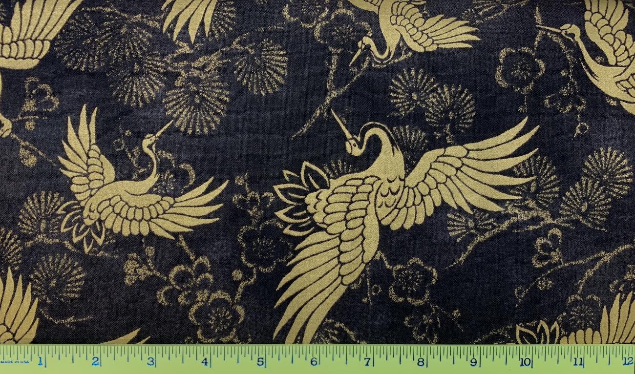 Cranes & Sakura 3