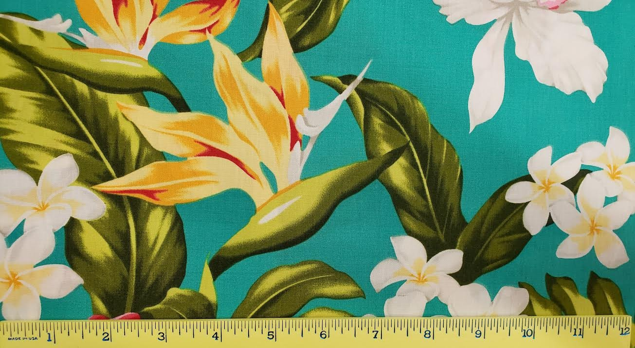 Hibiscus, Bird of Paradise, Orchid and Plumeria 2