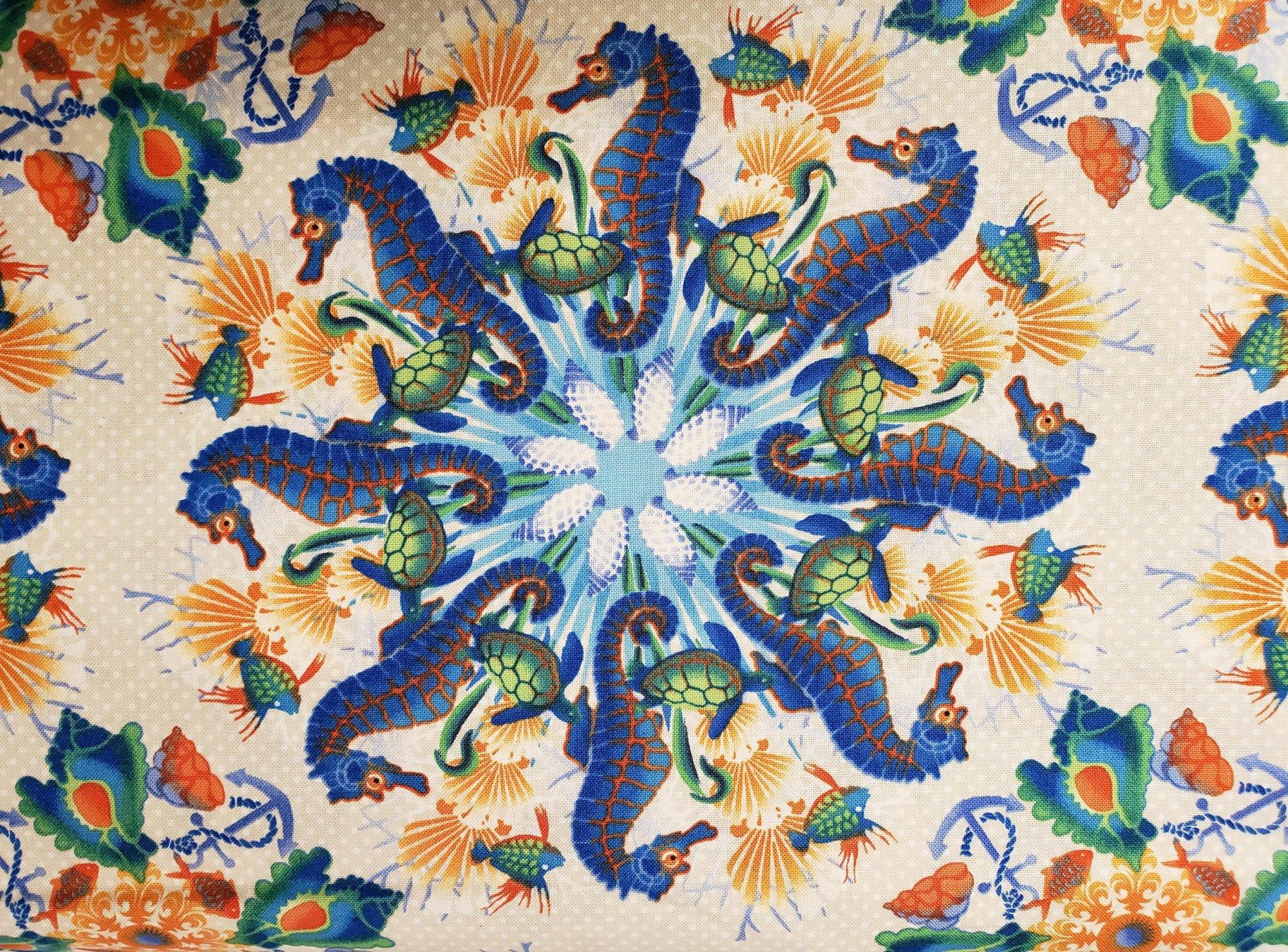 Seahorse Kaleidoscope