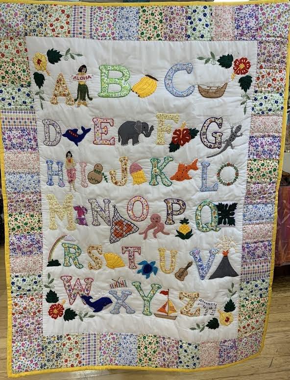 ABC Floral Quilt