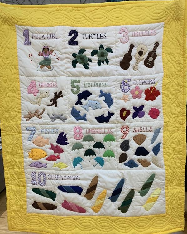 Numbers Quilt