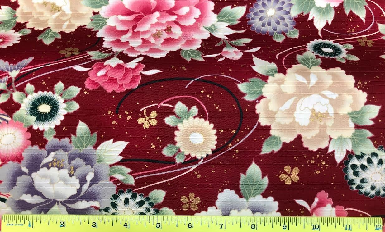Japanese Floral Print 3