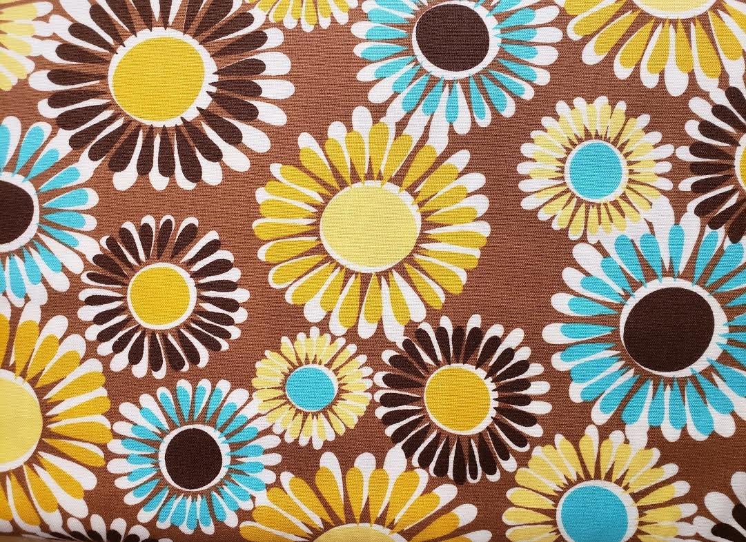 Happy Flowers Brown