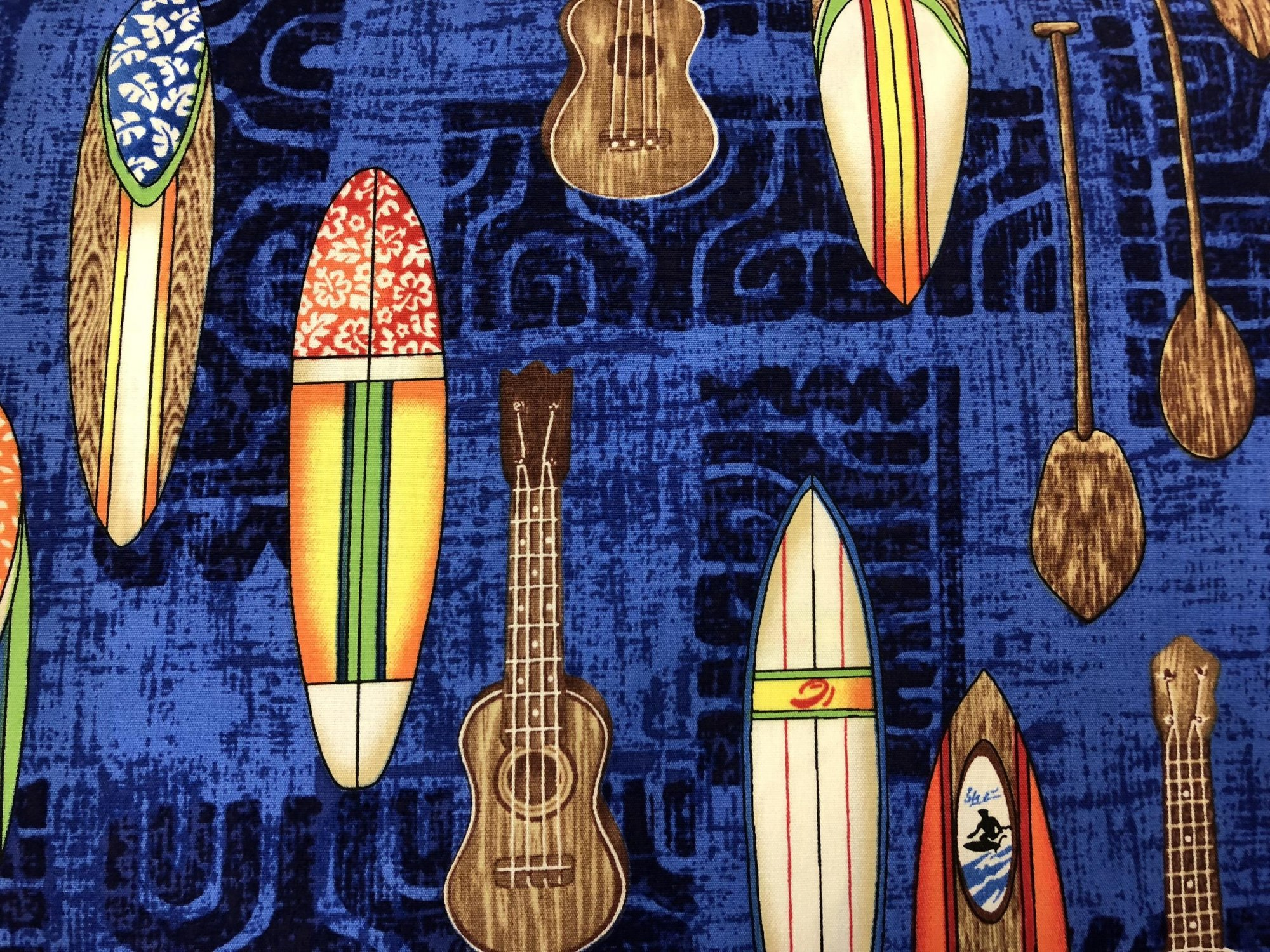 Surfboards and Ukuleles