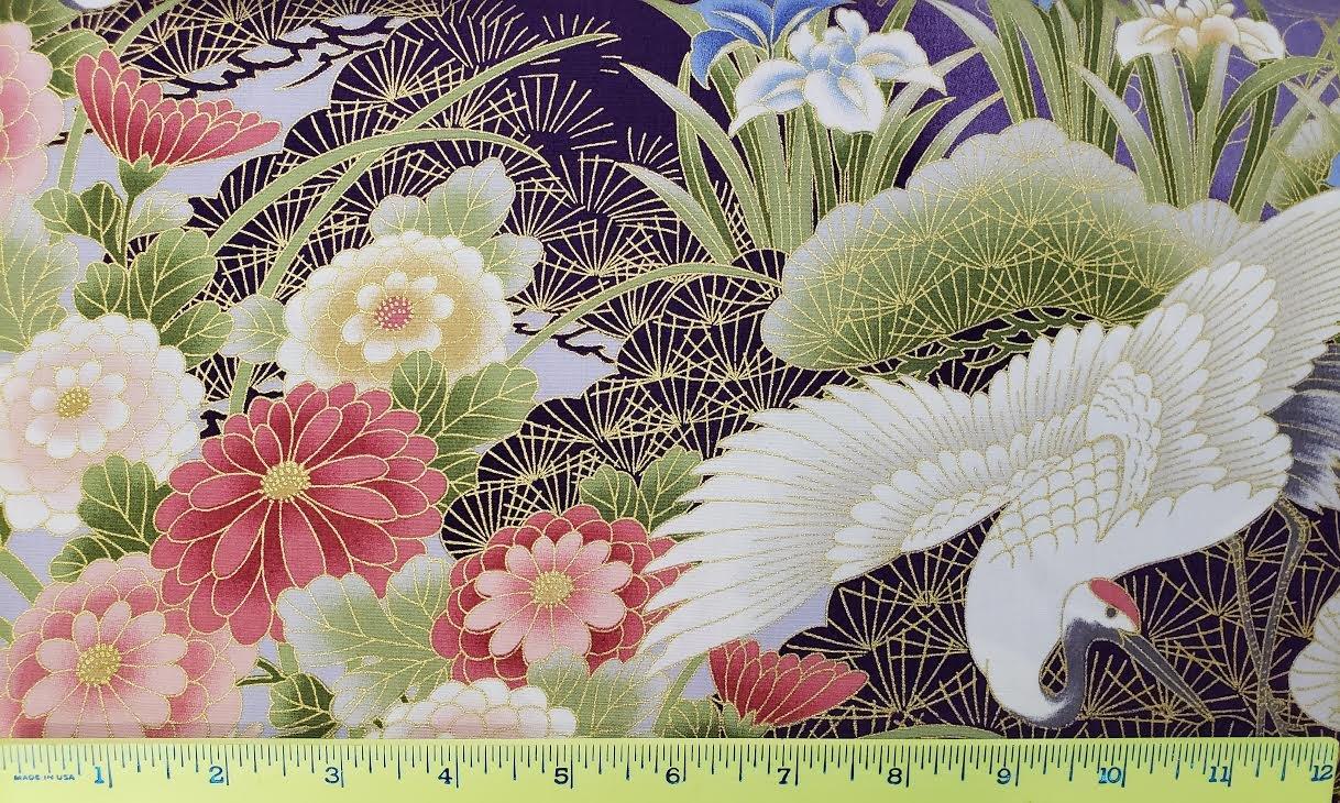 Cranes & Floral
