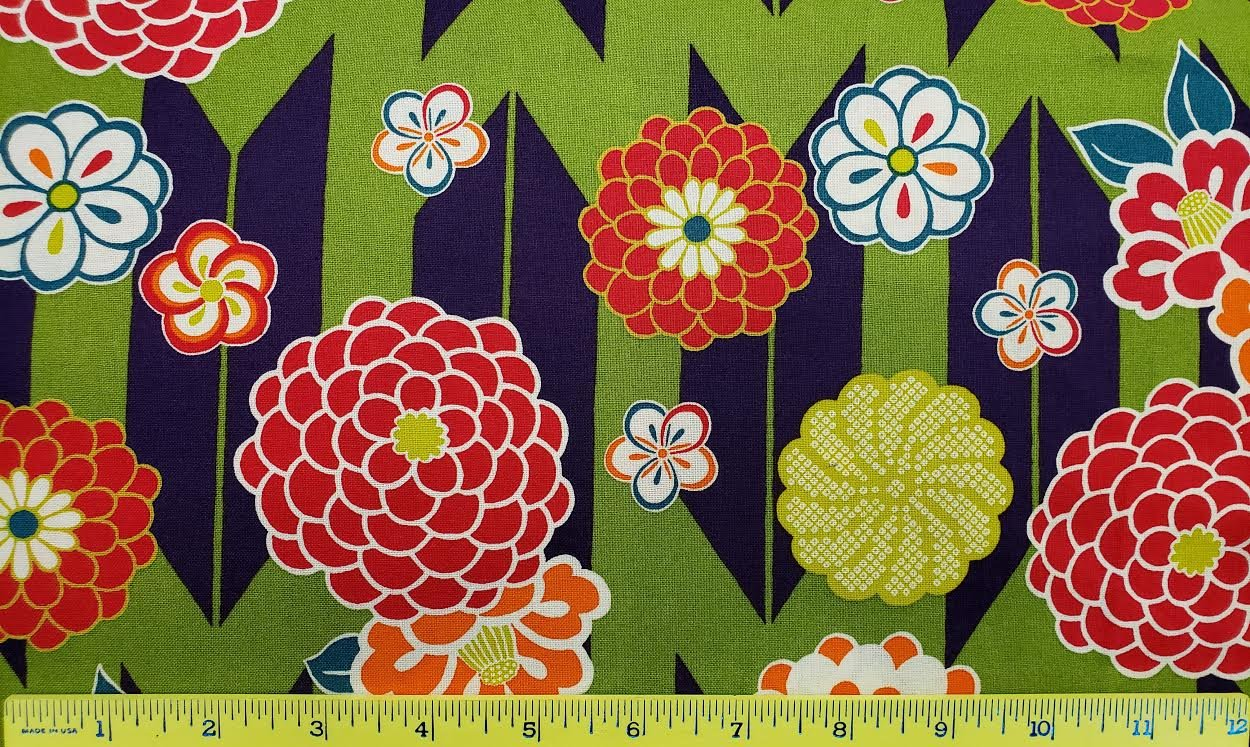 Japanese Floral Print