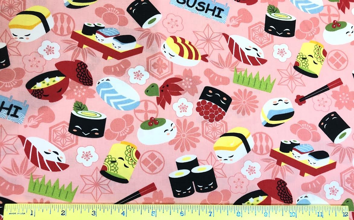 Cartoon Sushi