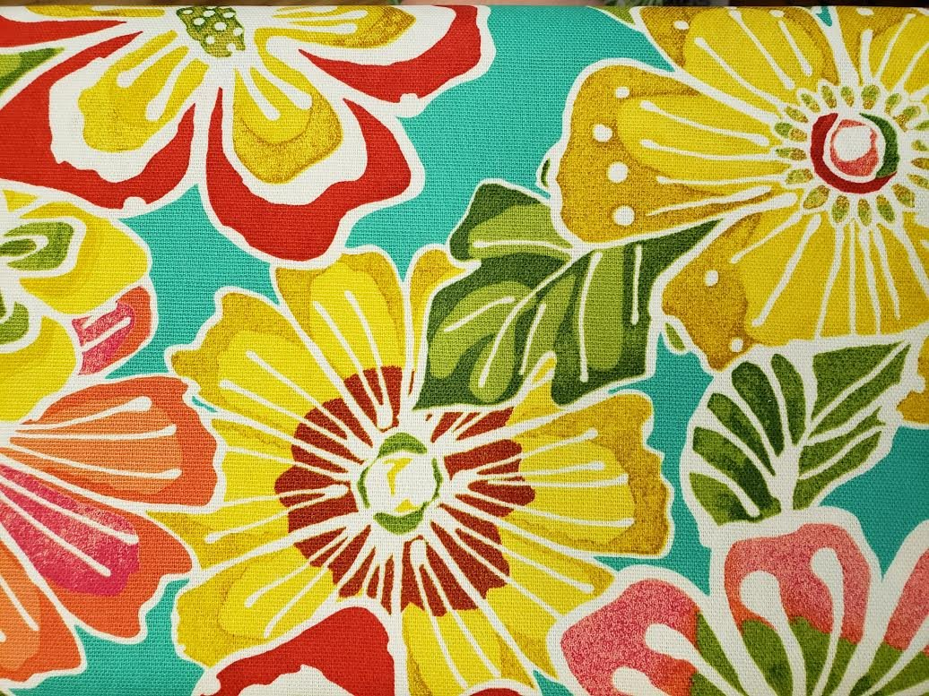 Hibiscus & More Lightweight Canvas