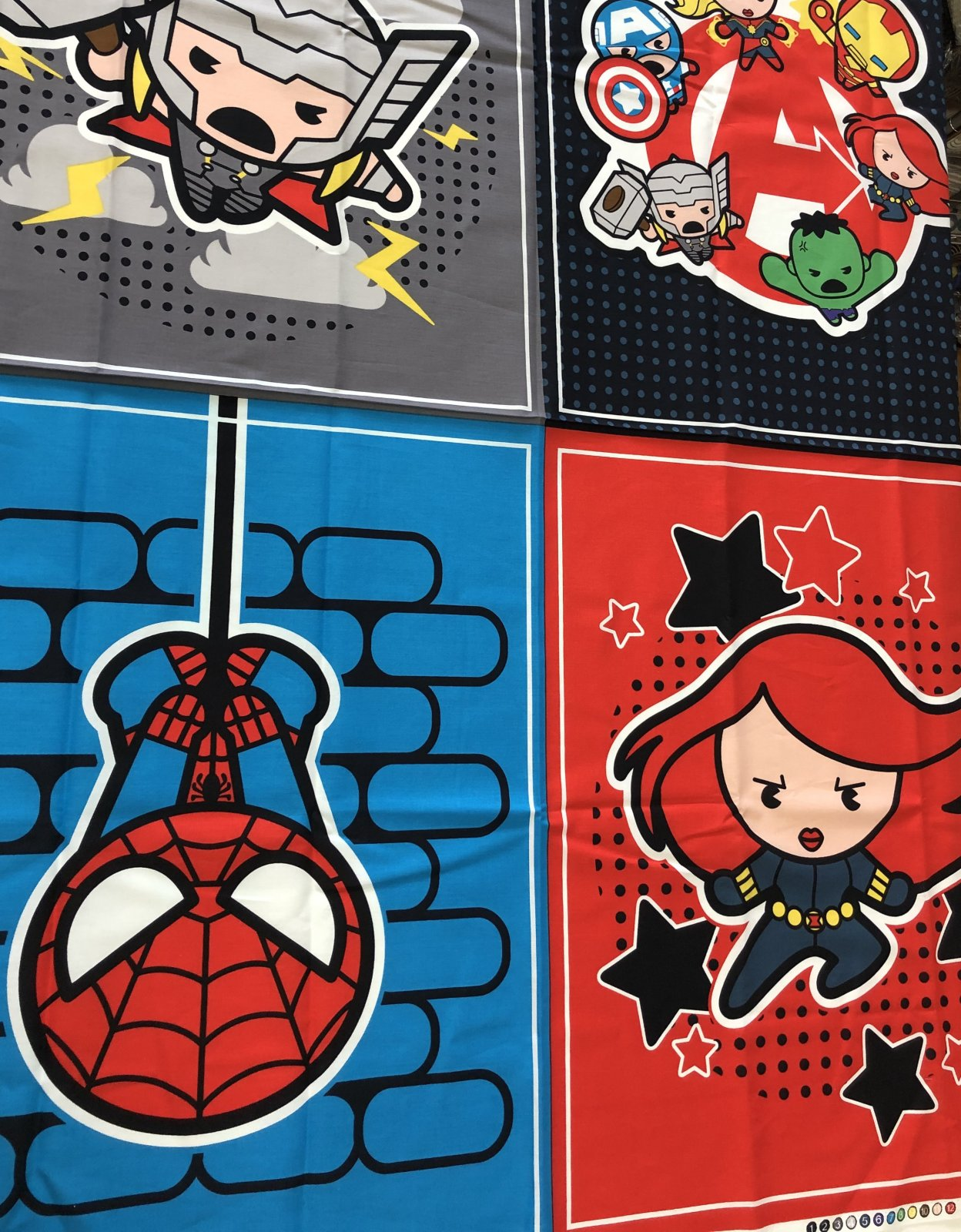 Multi Marvel Avengers Panel