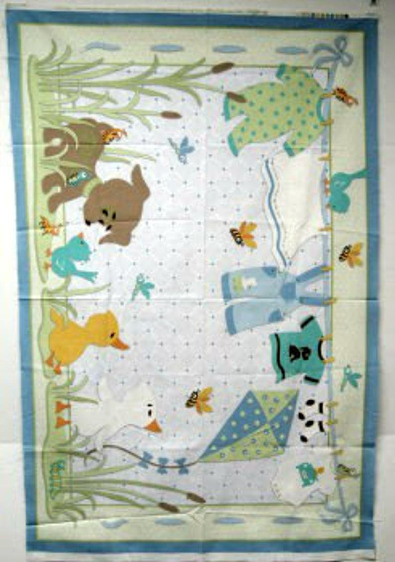 Frogs Snails & Puppy dog tails Panel