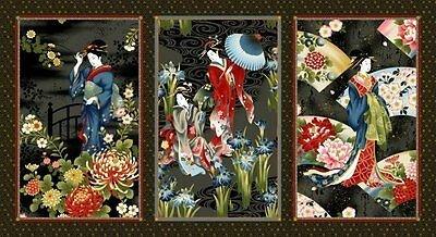 Fujiyama Geisha Charm Panel